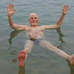 Behaglig avslutning. Döda Havet