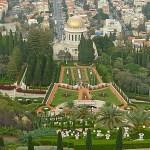 Bahaitemplet, Haifa. Israel (U)