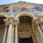 Kyrkan i Getsemanes trädgårdar. Jerusalem