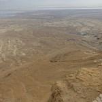 Vy från Masada-klippan