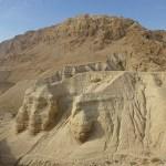 Här hittades Döda havs-rullarna. Qumran
