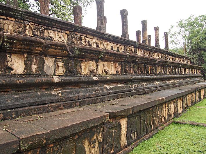 Audienshallen. Polonnaruwa (U)