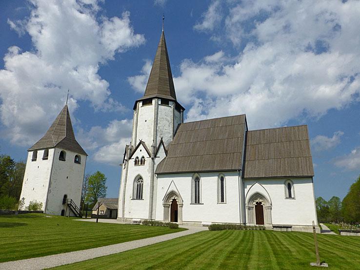 Kyrkan. Lärbro. Gotland