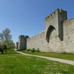 Sadeltorn i ringmuren. Visby (U). Gotland