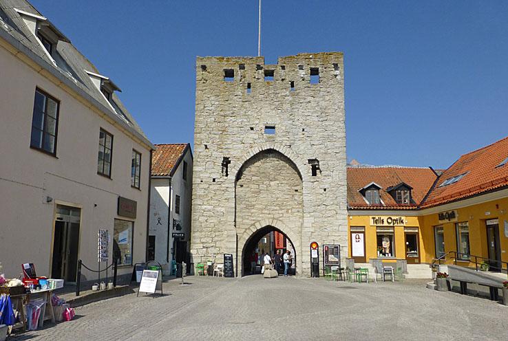 Österport. Visby (U). Gotland