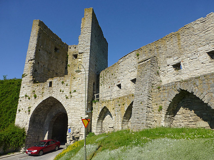 Norderport. Visby (U). Gotland