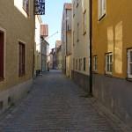 Den gamla staden. Visby (U). Gotland