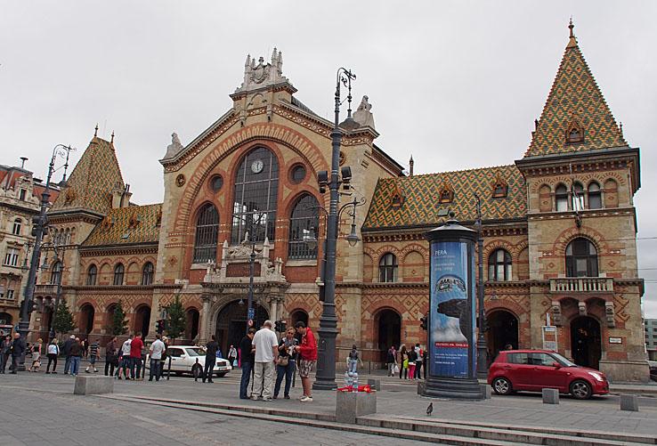 Marknadshallen. Budapest