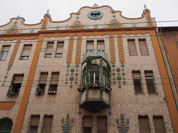 Deutsch palatset. Szeged