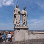 Kung Stefan och drottning Gizella. Veszprem
