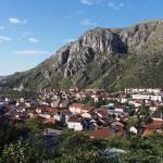 Vy över Mostar