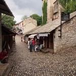 De gamla kvarteren. Mostar (U)
