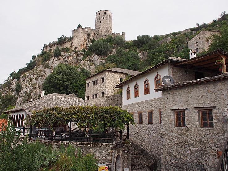 Den gamla staden. Pocitelj