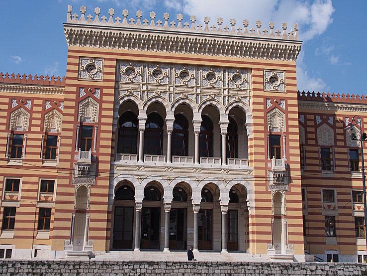 Gamla biblioteket. Sarajevo