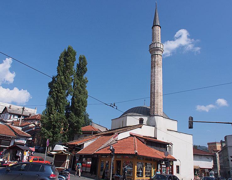 Bascarsijska Dzamila moskén. Sarajevo