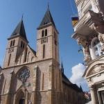 Katolska katedralen. Sarajevo