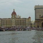 Gateway of India och Taj Mahal Palace. Mumbai