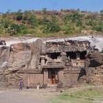 Grottemplet Indra. Ellora (U)