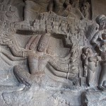 Grottemplet Ramsvara. Ellora (U)