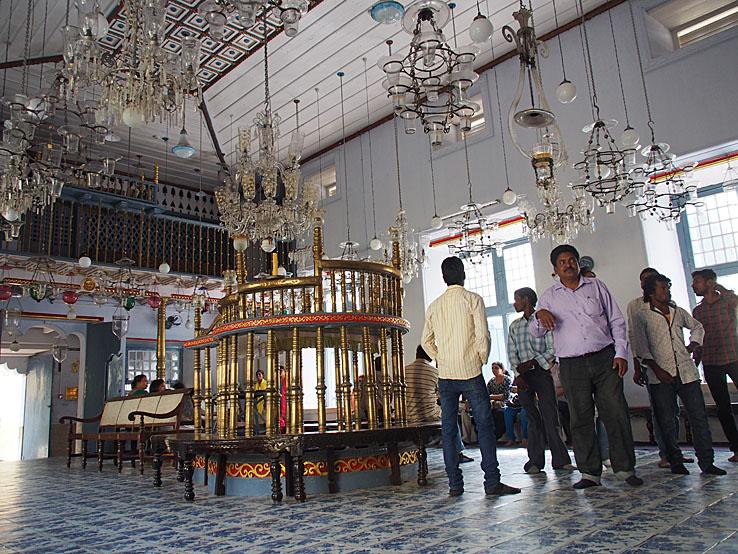Den gamla synagogan. Fort Kochi