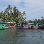 Rundtursbåtar. Goa