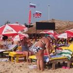 """""""Rysslägret"""". Vagator Beach. Goa"""