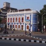 Kolonialt hus. Panjim. Goa
