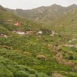Anaga-bergen strax norr om San Andre's