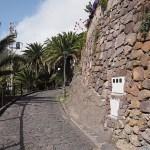 Huvudgatan i byn Masca