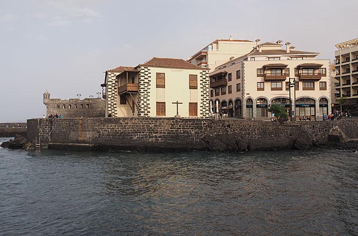 Den gamla tullbyggnaden. Puerto de la Cruz