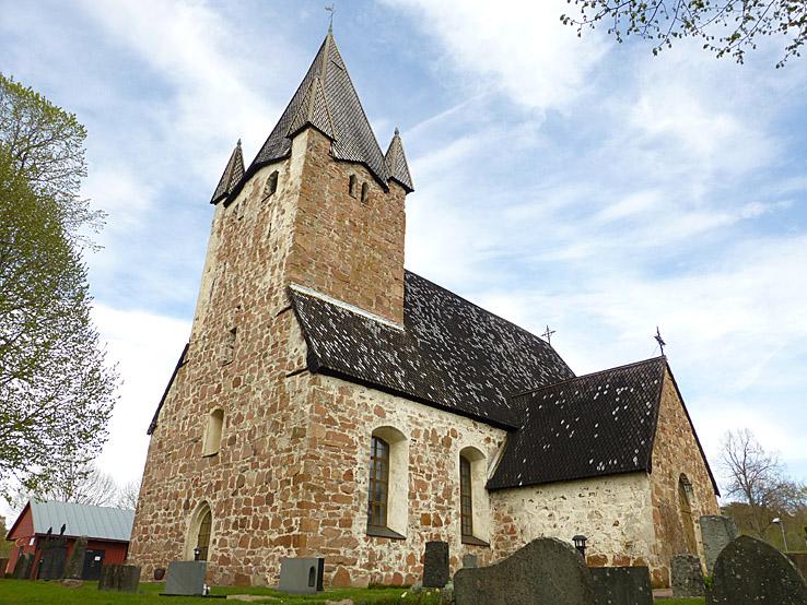 Kyrkan. Finström