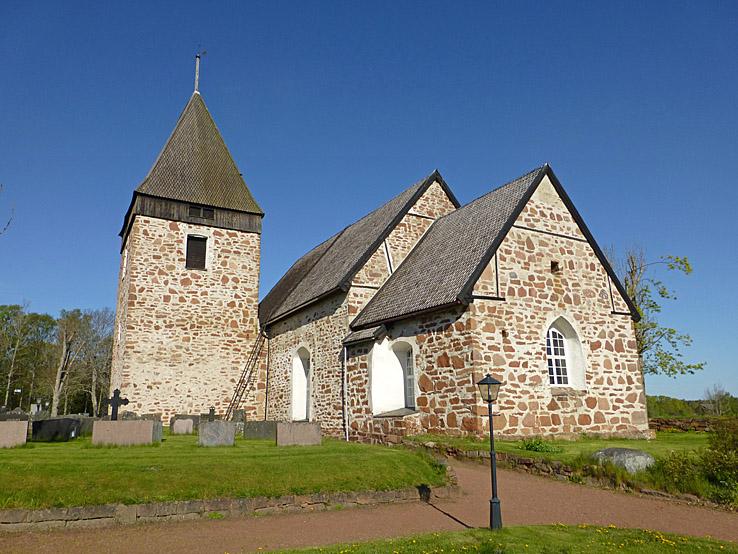 Hammarlands kyrka. Kattby