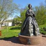 Tsarinnan Maria Aleksandrovna. Mariehamn