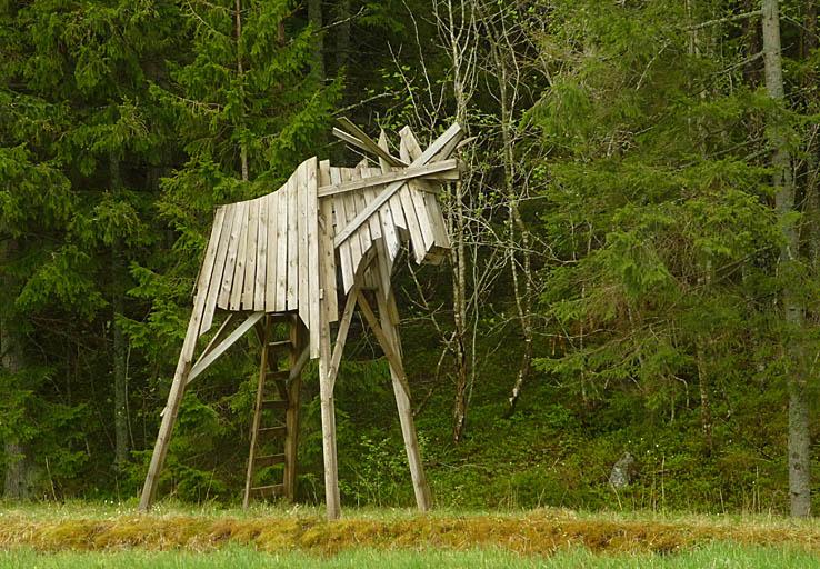Älgtorn modell Åland