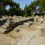 Tempelruiner. Filerimos