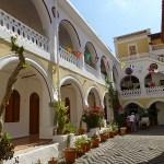 Klostret Panormitis. Symi