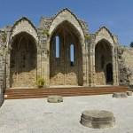 Kyrkan St:a Maria du Burg. Rhodos stad (U)