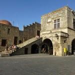 Ortodoxa biskopens palats. Rhodos stad (U)