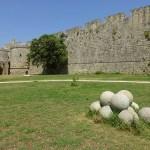 Del av ringmuren. Rhodos gamla stad (U)