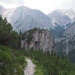 Vandring vid Pragser Wildsee (U)