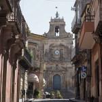 Katedralen Sankt Sebastian. Palazzolo Acreide (U)