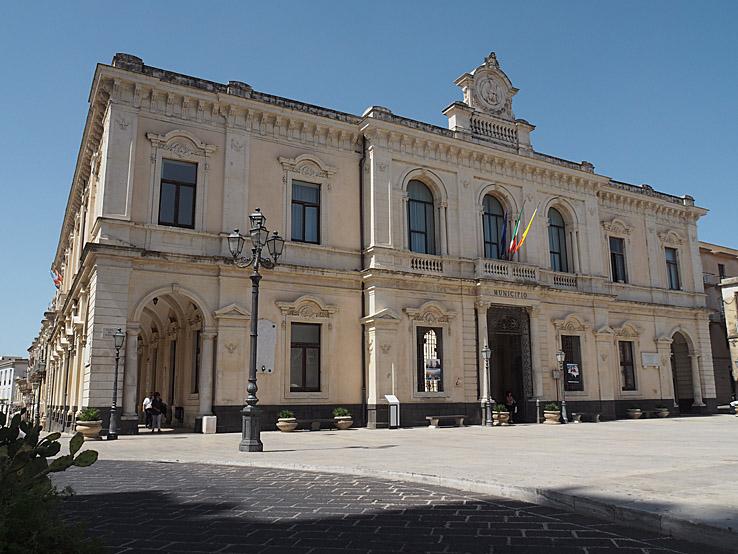 Palazzo Municipale. Palazzolo Acreide