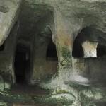 Grekiska klippgravar. Palazzolo Acreide