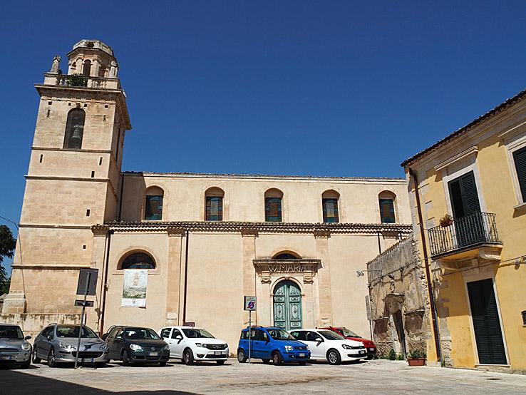 Chiesa di San Francisco all Immacolata. Ragusa Ibla (U)