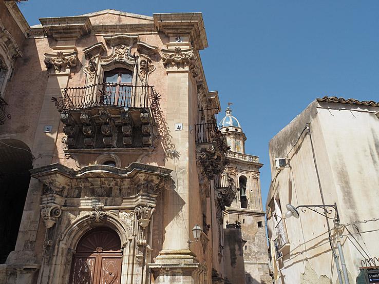 Palazzo delléx Cancellaria. Ragusa Ibla (U)