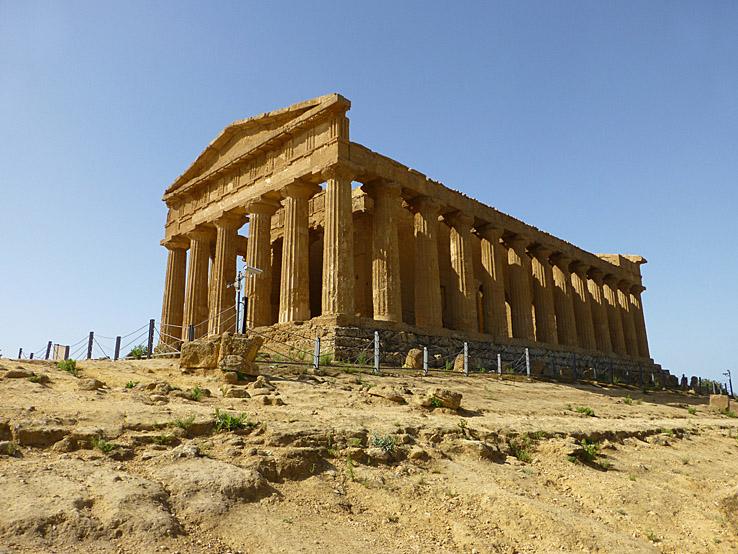 Templet Concordia. Valley of Temples. Agrigento (U)