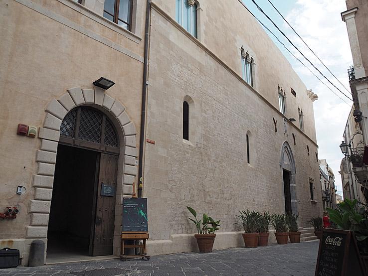 Palazzo Bellomo. Siracusa (U)