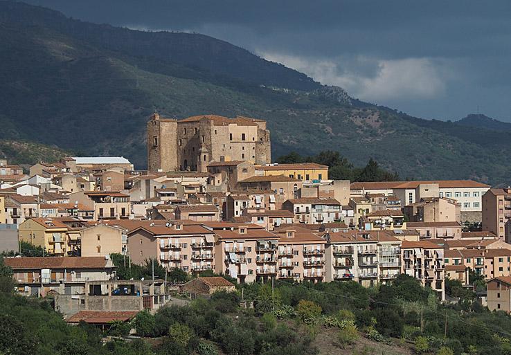 I pittoreska små städer. Sicilien