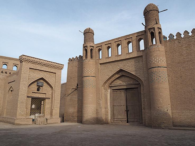 Citadel Kunya Ark. Khiva