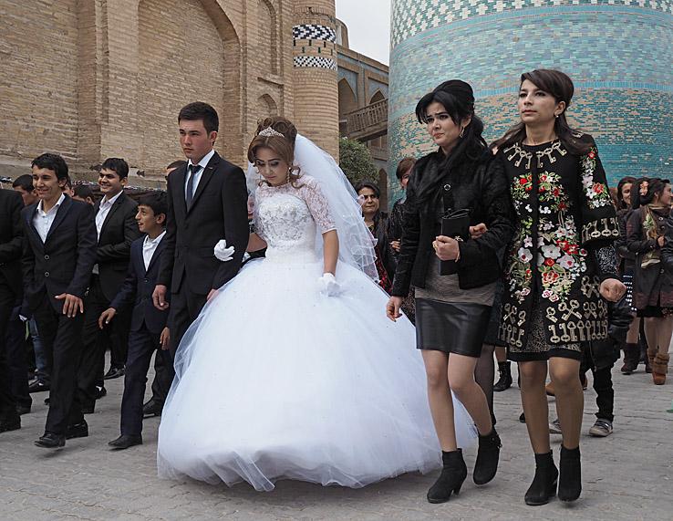 Bröllop. Khiva